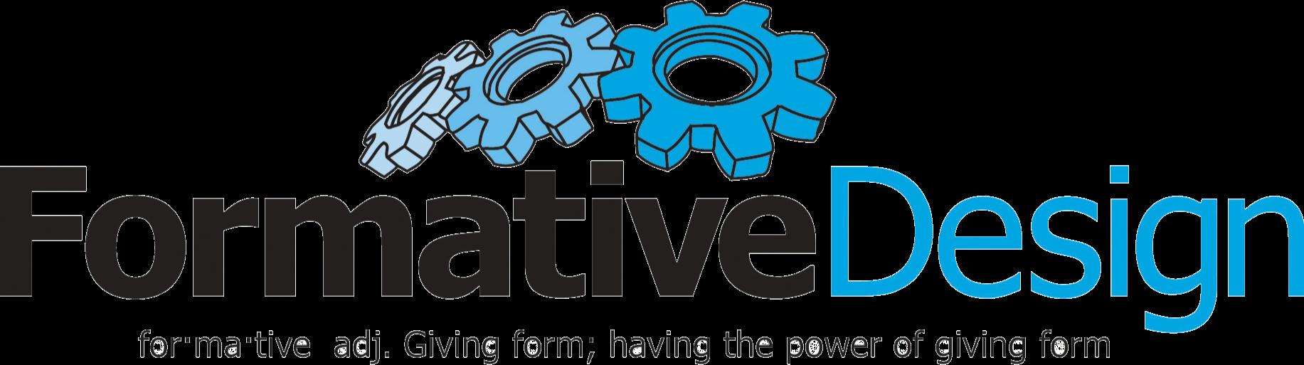 Business logo with tagline