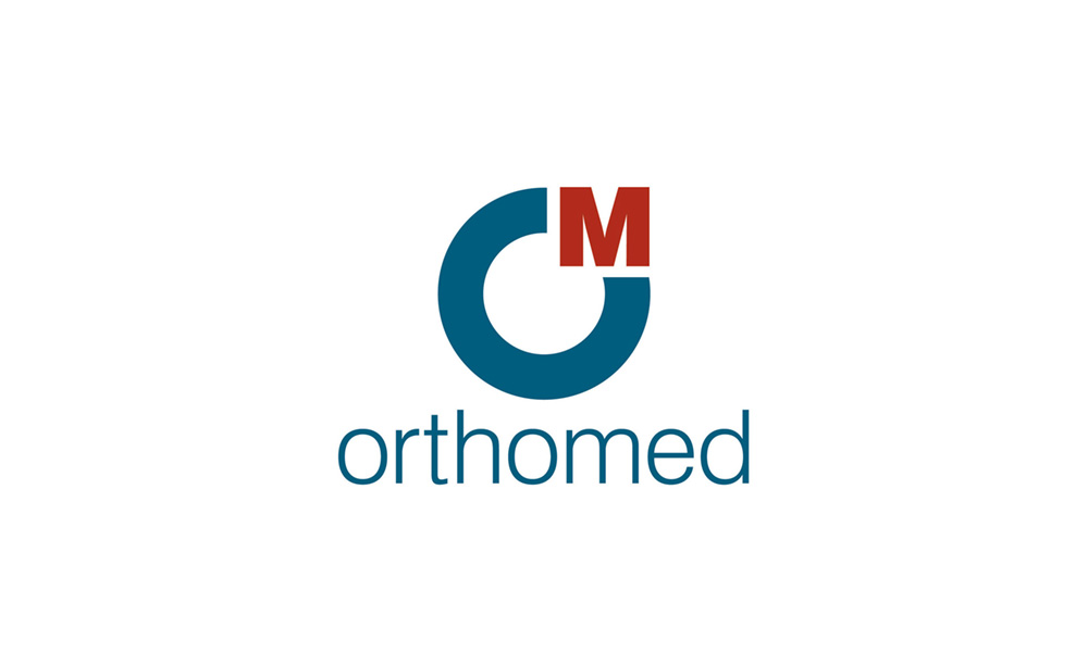 Orthomed logo - a client of Formative Design.